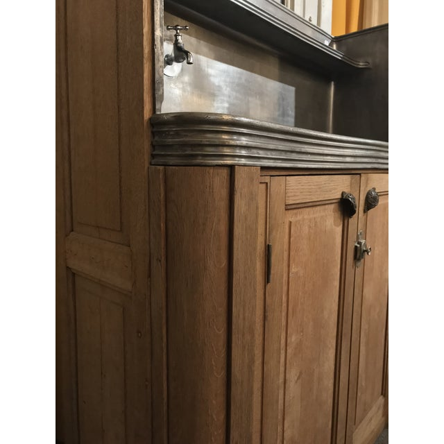 French Antique French Butler's Pantry Bar For Sale - Image 3 of 10