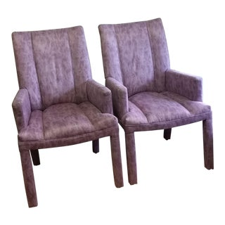 Vintage Parsons Chairs - A Pair For Sale