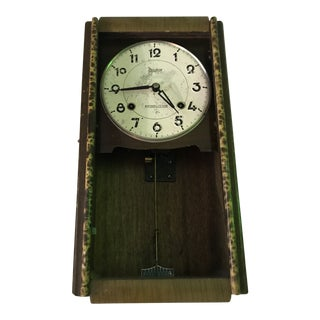 Late 19th Century Antique Victorian Era Wall Clock For Sale