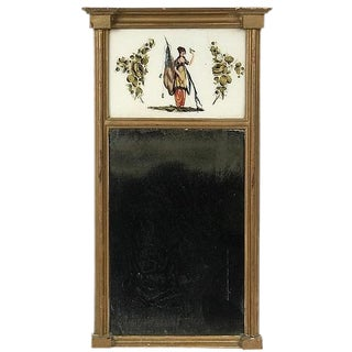American Federal Period Mirror For Sale
