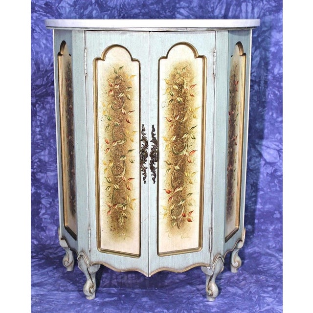 Portuguese Marble Top Cabinet For Sale - Image 11 of 12