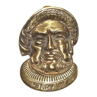 Henry VIII Door Knocker For Sale