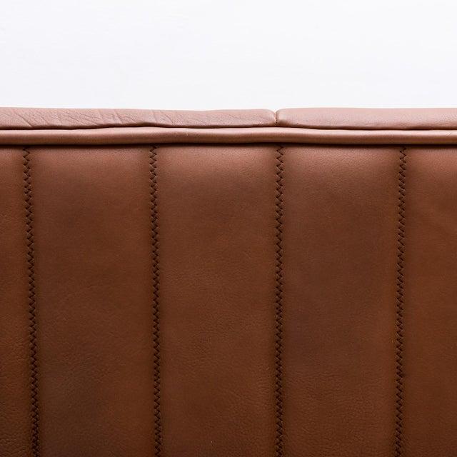 Animal Skin Original De Sede Model Ds84 Sofa in Cognac Buffalo Leather, 1970s For Sale - Image 7 of 9