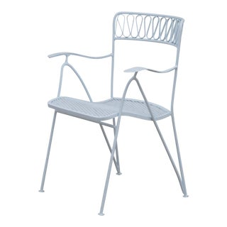 Outdoor Indoor Dining Chairs by Maurizio Tempestini for Salterini For Sale
