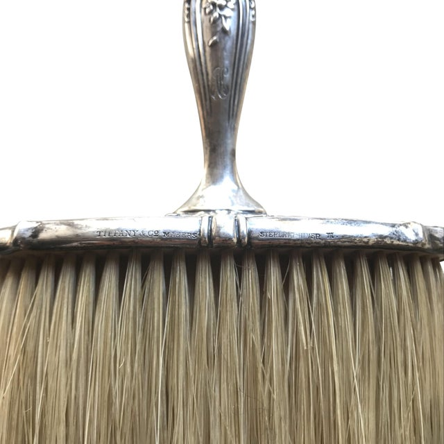 Tiffany and Co. Tiffany & Co. Silver Grooming & Vanity Brush For Sale - Image 4 of 6