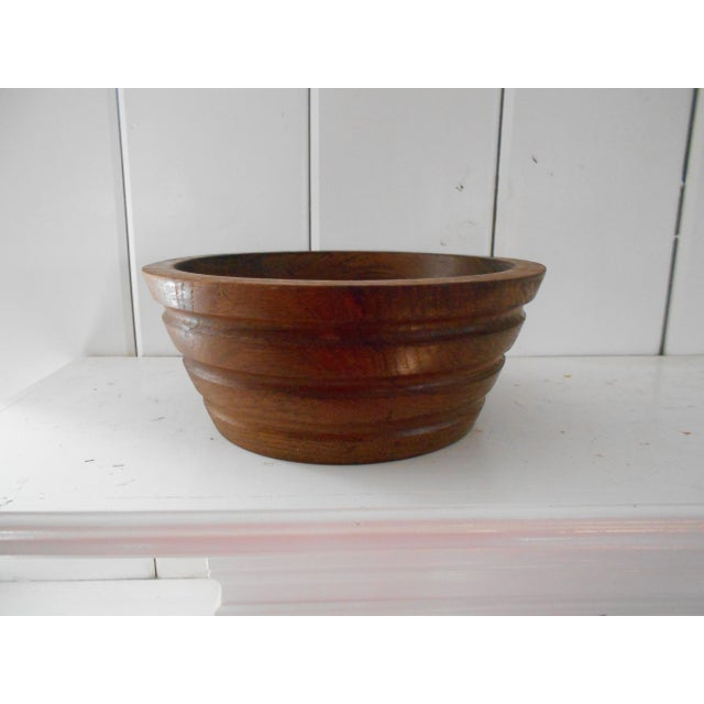 Vintage Teak Bowl - Image 2 of 7