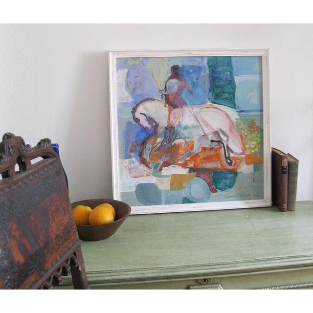Andrew Portwood Painting, Flowering Fields For Sale - Image 4 of 4