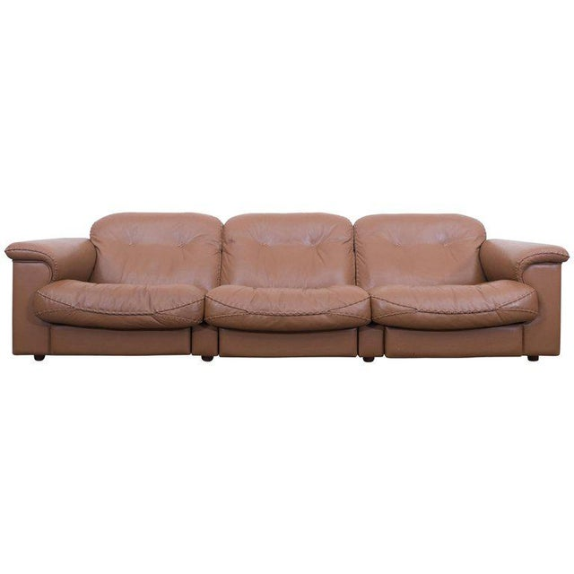 Adjustable DS 101 Three-Seat Sofa by De Sede For Sale - Image 10 of 10