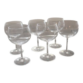 Tiffany & Co. Montrachet/Burgundy Wine Glasses - Set of 6