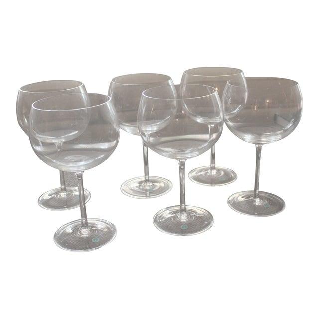 6496fbafcf67 Tiffany   Co. Montrachet Burgundy Wine Glasses - Set of 6 For Sale
