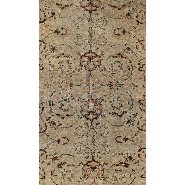 Traditional 1920s Antique Sivas Rug - 3′10″ × 5′5″ For Sale - Image 3 of 7