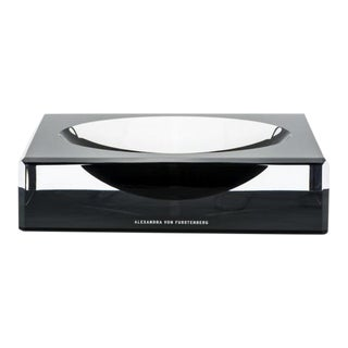 Alexandra Von Furstenberg Black Candy Dish For Sale