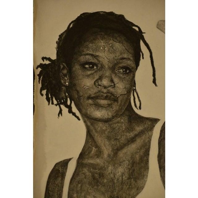 """2000 - 2009 Original """"Woman"""" by Kellie Kaori Vernon For Sale - Image 5 of 6"""