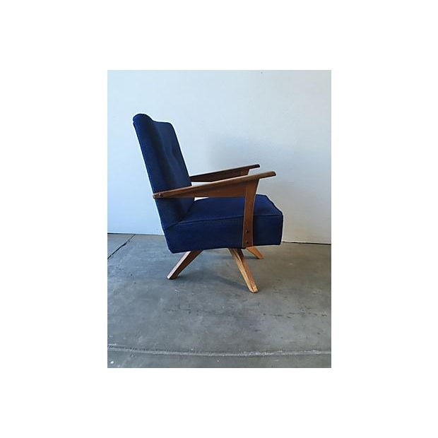 Mid-Century Rocker Swivel Chair - Image 3 of 8