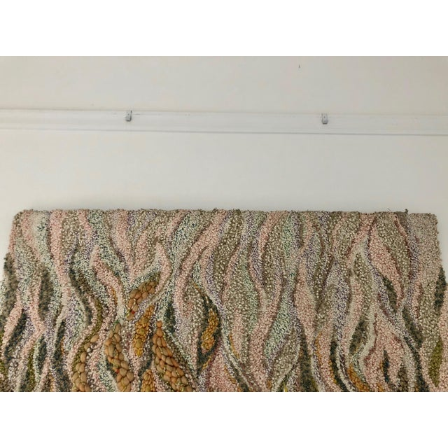 """1980s """"Canto Al Fuego"""" Textile Art For Sale - Image 5 of 9"""