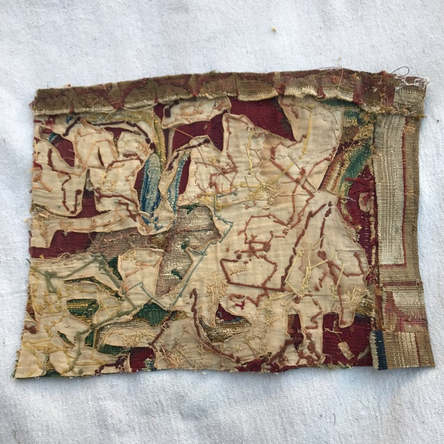 17th Century Tapestry Fragment - Image 4 of 4