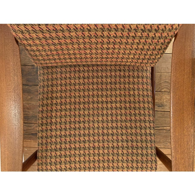 Mid-Century Modern Danish Mid Century Modern Teak and Upholstered Club Chairs- A Pair For Sale - Image 3 of 9