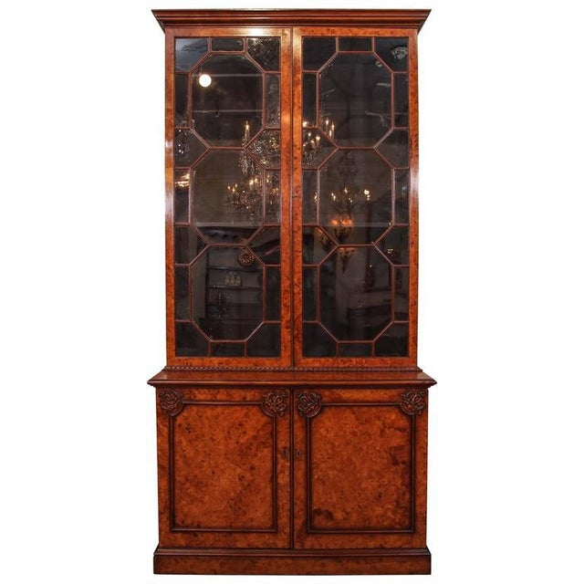 Antique English Bookcase For Sale - Image 10 of 10