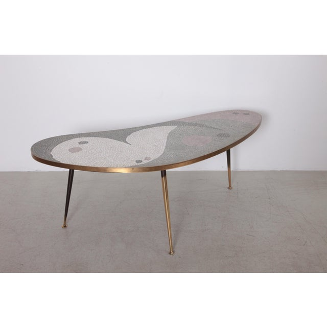 Gold Huge Berthold Muller Mosaic Coffee Table For Sale - Image 8 of 8