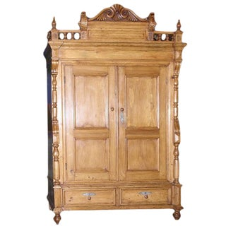 Neo-Gothic Armoire For Sale