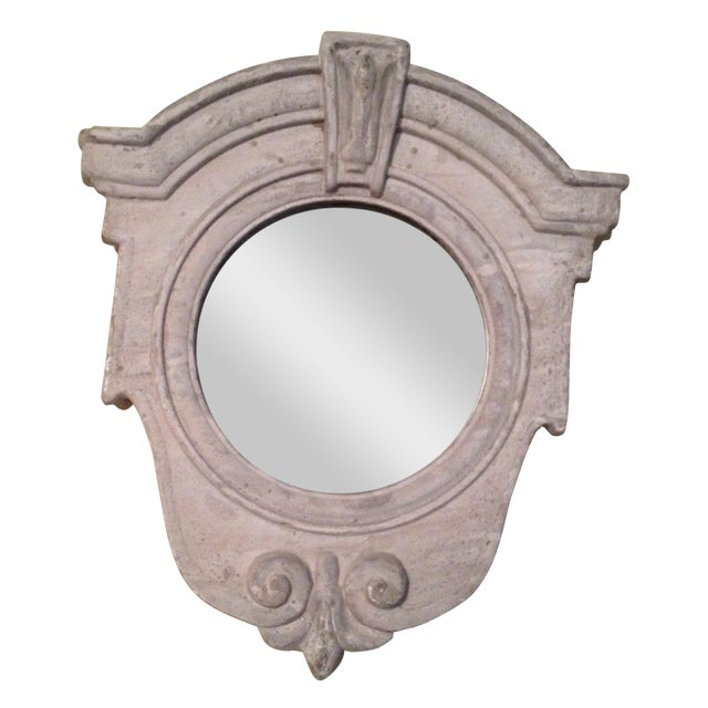 French Architectual Style Mirror For Sale