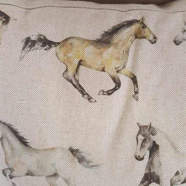 Horses Accent Pillow For Sale In Dallas - Image 6 of 13