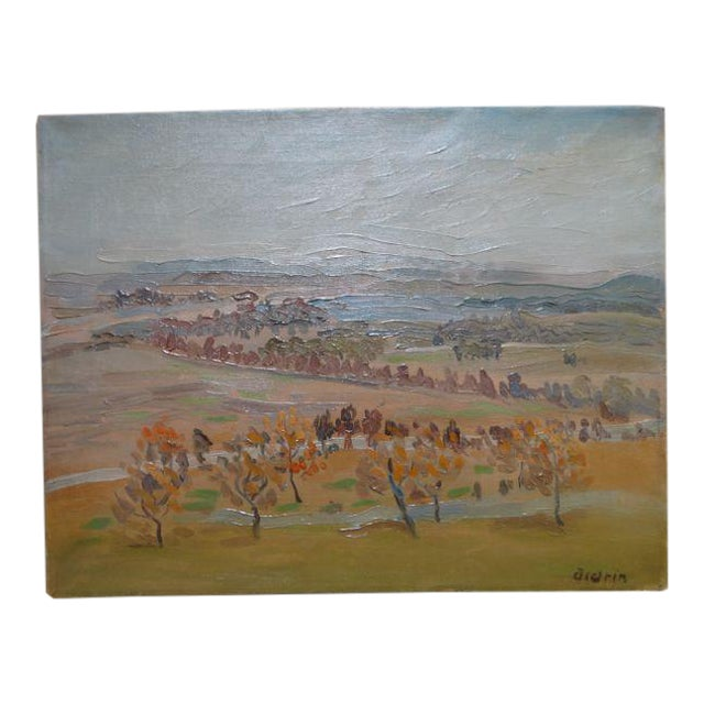 California Winter Fields Painting by Anders Aldrin - Image 1 of 8