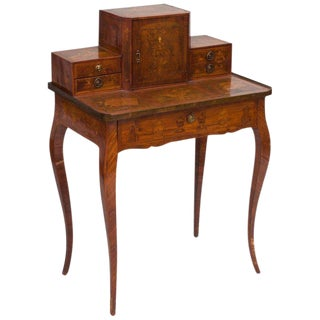 18th Century Louis XV Provincial Ladies Writing Desk For Sale