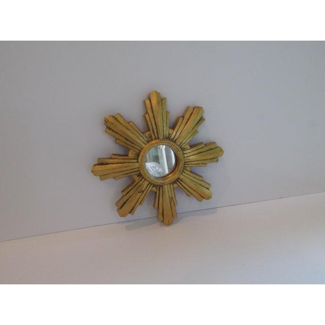 Mid-Century Modern Jaru Co. Starburst Mirror For Sale - Image 3 of 6