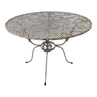 Mid-Century John Salterini CastIron Peacock Table For Sale