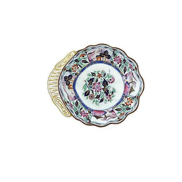 Spode Antique Spode Serving Dish For Sale - Image 4 of 4