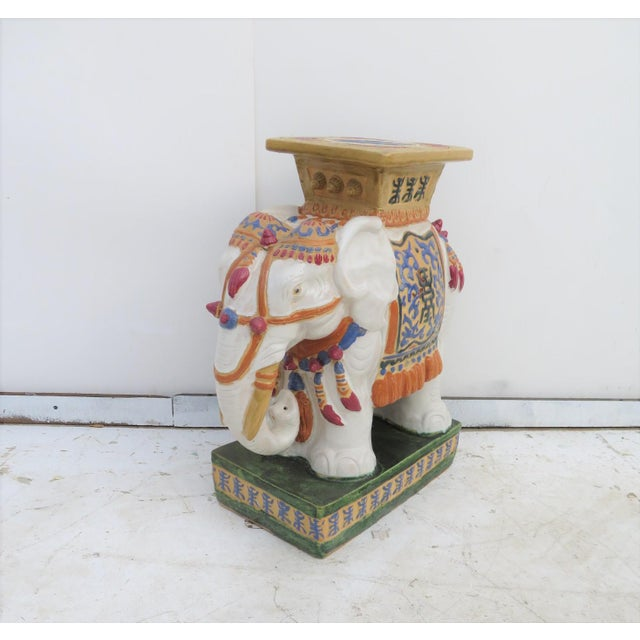 Chinese Elephant Garden Stool - Image 6 of 6
