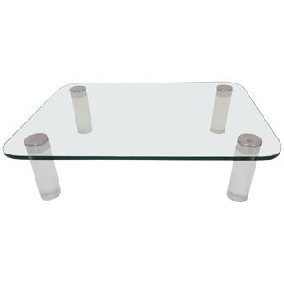 Lucite Cocktail Table For Sale