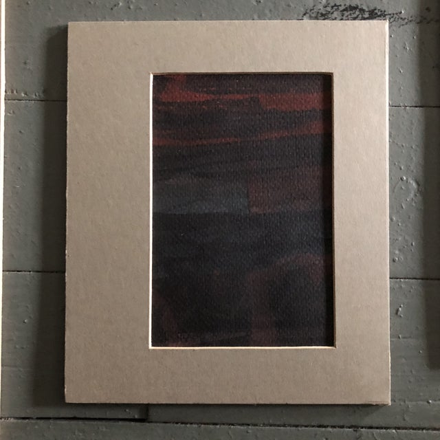 Original Vintage Ray Kinlock Abstract Paintings on Fabric - Collection of 7 For Sale - Image 4 of 9