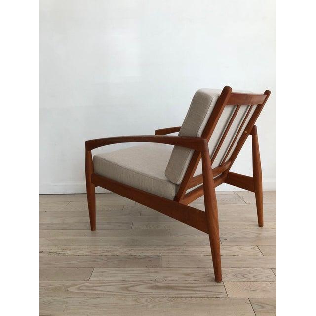 1955 Mid-Century Modern Kai Kristiansen Teak Paper Knife Easy Chair For Sale - Image 11 of 13