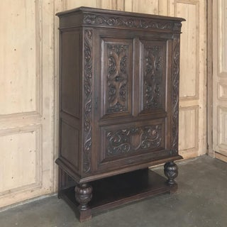 Antique French Renaissance Raised Cabinet Preview