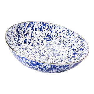 Catering Bowl Cobalt Swirl - 5 qts. For Sale