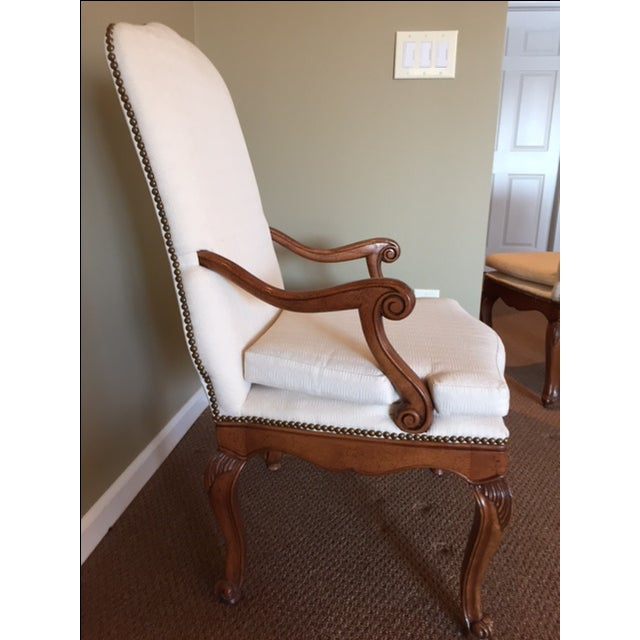 Baker French Country Dining Chairs - Set of 6 - Image 4 of 6