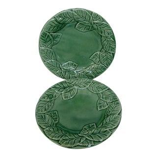 Portuguese Green Salad Plates - A Pair