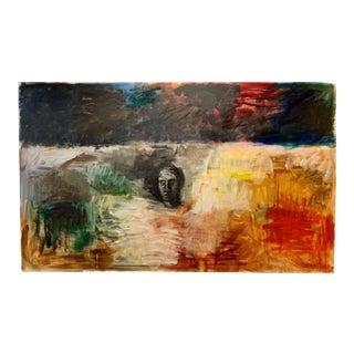 "Bill Komodore ""Texas Landscape"" Original Painting, 1986 For Sale"