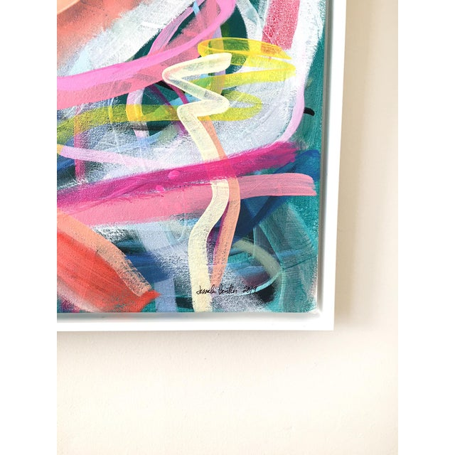 Contemporary Dreamy Waterscape Contemporary Painting For Sale - Image 3 of 5