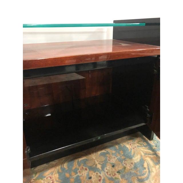Modern 1980s Modern Henredon Koa Wood Side Table For Sale - Image 3 of 5