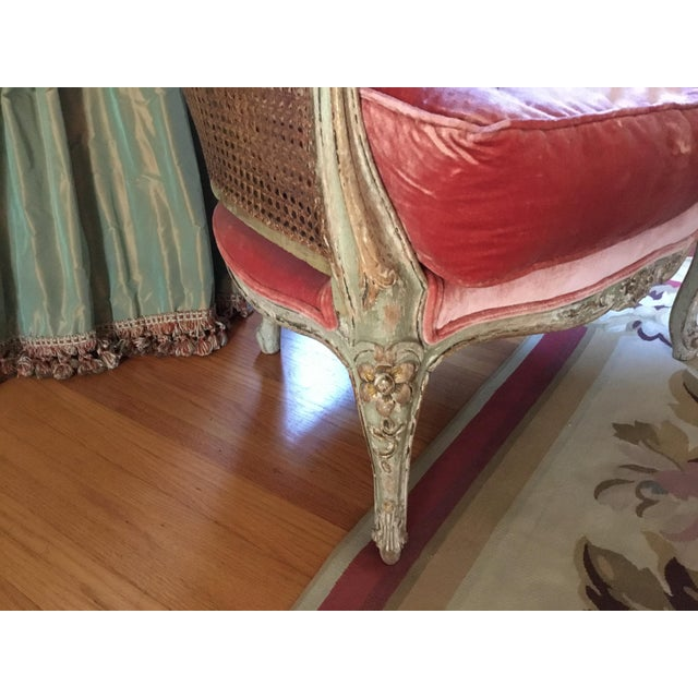 Late 18th Century French Cane Bergere Chairs- a Pair For Sale - Image 11 of 13