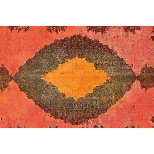 "1960s Apadana - Vintage Overdyed Rug, 9'4"" X 12'6"" For Sale - Image 5 of 7"
