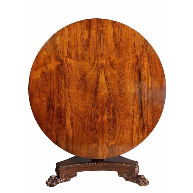William IV Rosewood Breakfast Table For Sale - Image 9 of 9