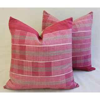 Boho-Chic Mali Woven Tribal Feather/Down Pillows - A Pair Preview