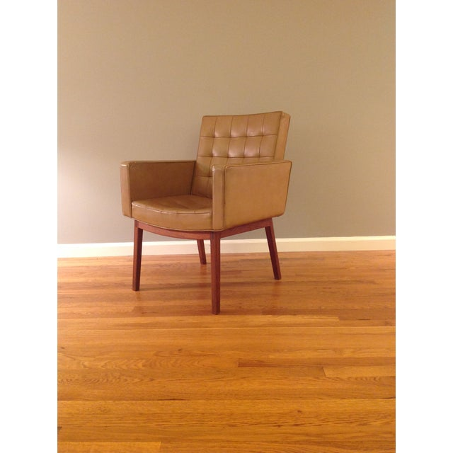 Vincent Cafiero Mid-Century Modern Armchair for Knoll For Sale - Image 11 of 11
