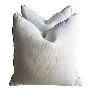 Canvas & Burlap Throw Pillows For Sale