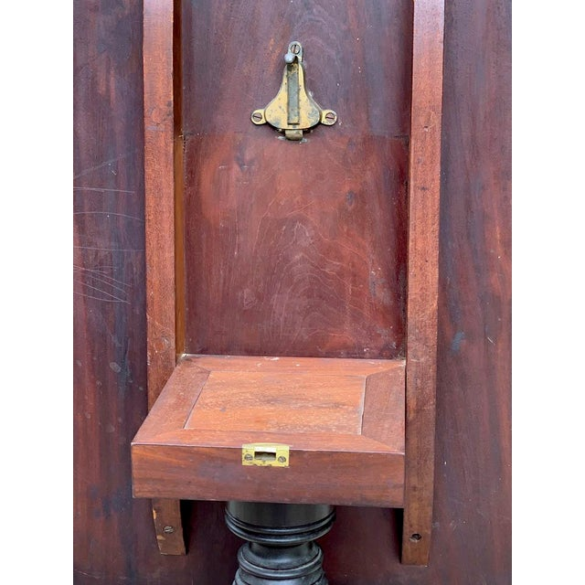 Brown Late 18th- Early 19th Century Mahogany Tilt Top Table For Sale - Image 8 of 10