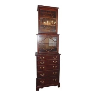 Hickory Chair Furniture Park Avenue Tall Cabinet For Sale